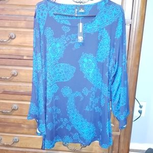 """NWT 3xl """"New Direction"""" Tunic"""